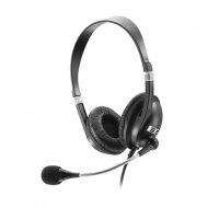 Headset Stereo Multilaser Ph041 Preto Acoustic