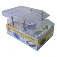 Caixa Corresp Dupla Acrimet 243.3 Cristal Articulada