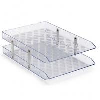 Caixa Corresp Dupla Waleu 140 Cristal Nao Articulada