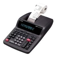 Calculadora Mesa Casio Dr-120tm-bk C/ Bobina 12 Dig 220 V