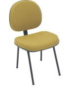 Cadeira Digitador E N Italia Lisa Fixa 04 Pes Most