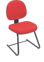 Cadeira Digitador E N Italia Goma Fixa Base S Vermelho
