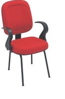 Cadeira Diretor E N Italia Goma Fixa 04 Pes Vermel