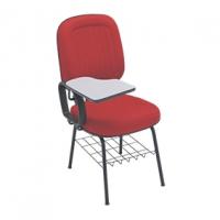 Cadeira Diretor E N Italia Goma Fixa 04 Pes C/ Pranch Verme