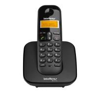 Aparelho Telefone Intelbras Ts3110 S/fio Preto
