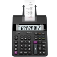 Calculadora Mesa Casio Hr-150rc C/ Bobina 12 Dig