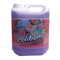 Desinfetante Limpador Polibom Floral 5l