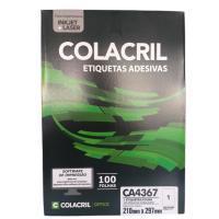 Etiqueta Cola Cril 210 X 297 Ca4367 5243 100fls