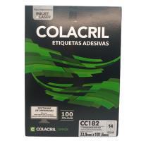 Etiqueta Cola Cril 33,9 X 101,6 Cc182 4009