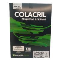Etiqueta Cola Cril 99,1 X 34 Ca4362 5183