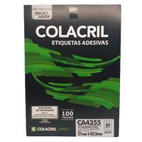 Etiqueta Cola Cril 31 X 63,5 Ca4355