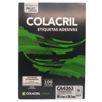 Etiqueta Cola Cril 38,10 X 99,10 Ca4363 4073
