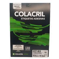 Etiqueta Cola Cril 50,8x101,6 Cc183 4011