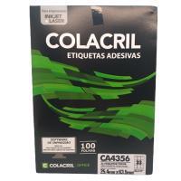 Etiqueta Cola Cril 25,4x63,5 Ca4356 4041