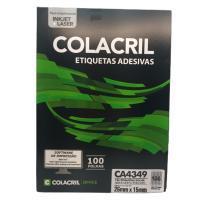 Etiqueta Cola Cril 26,0 X 15,0 Ca4349