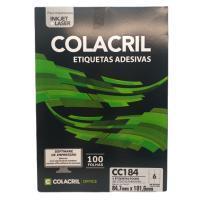 Etiqueta Cola Cril 84,7 X 101,6 Mm Cc184