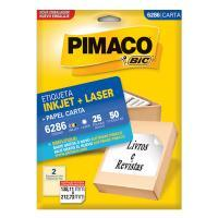 Etiqueta Pimaco 138,11 X 212,73mm 6286 (25fls)