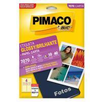 Etiqueta Pimaco  7070 Glossy 127 X 88,9mm