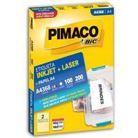 Etiqueta Pimaco 143,4 X 199,9 Mm 436a8