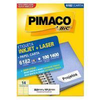 Etiqueta Pimaco 33,9 X 101,6 6182