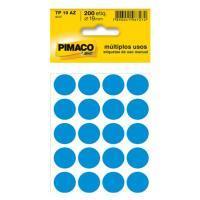 Etiqueta Bola Pimaco 19mm Azul Claro