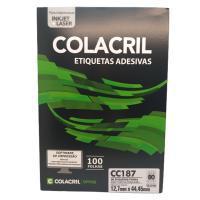 Etiqueta Cola Cril 12,7 X 44,45 Cc187 4003