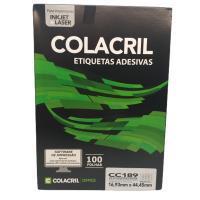Etiqueta Cola Cril 16,93 X 44,45 Cc189 4101