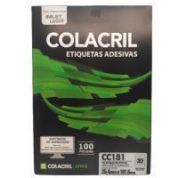 Etiqueta Cola Cril 25,4 X 101,6 Cc181 4007