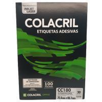 Etiqueta Cola Cril 25,4 X 66,7 Cc180 4005