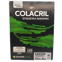 Etiqueta Cola Cril 25,4 X 99 Ca4354 4015
