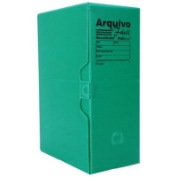 Arquivo Morto Plastico Polibras Verde
