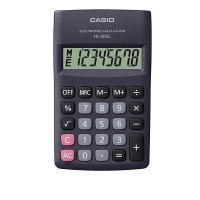 Calculadora Bolso Casio Hl-815l-bk-s4 08 Dig