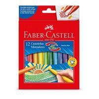Caneta Hidrog Faber Castell 12 Cores 15.0112vvzf Vai E Vem