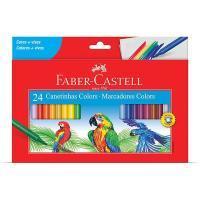 Caneta Hidrog Faber Castell 24 Cores 15.0124czf