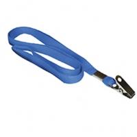 Cordao Cracha Acp 803 Azul Tecido Com Presilha
