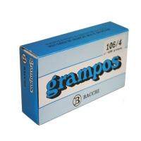 Grampo 106/4 Bacchi Rocama Galvanizado C/4200