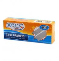 Grampo 26/6 Brw Galvanizado 5000un