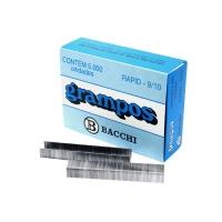 Grampo 9/10 Bacchi Galvanizado 5000un