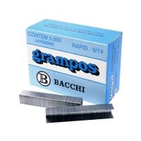 Grampo 9/14 Bacchi Galvanizado 5000un