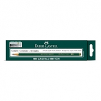 Lapis Grafite Faber Castell N Hb 9000 Hb