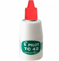 Reabastecedor Carimbo Pilot Tc42vm Vermelho